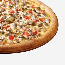 <p>双层芝士加上双倍牛肉,配以酸黄瓜片、番茄丁,再配上浓郁汉堡酱,交织出汉堡风味的独特口感。</p>